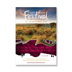 Two Moors Festival Promotional Materials