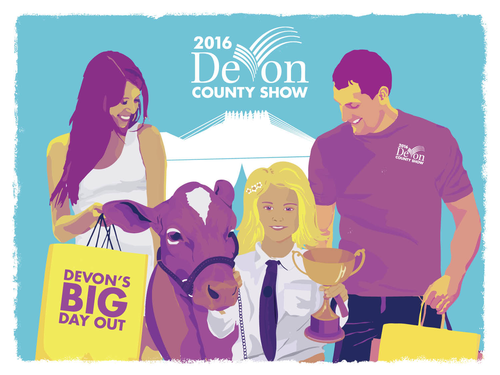 Devon County Show Brand & Marketing